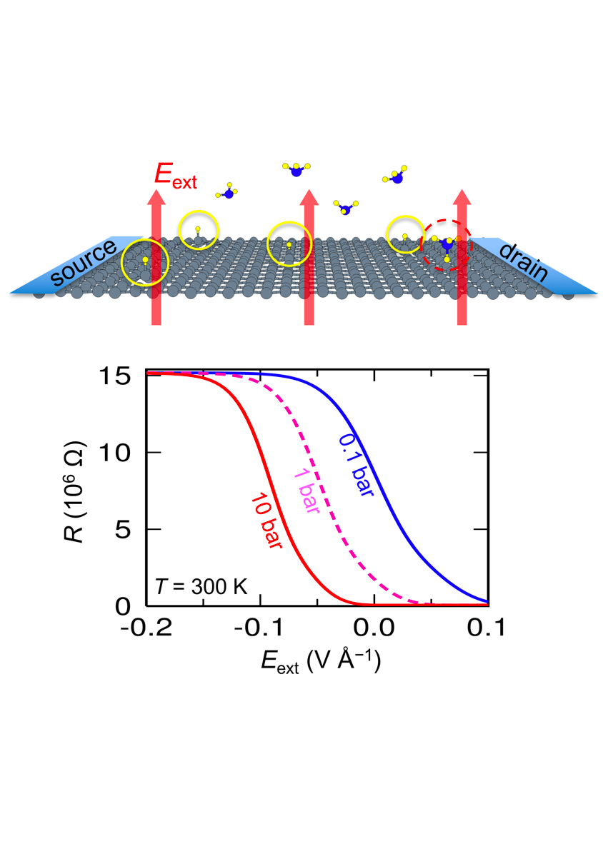 Tunable Anderson localization in hydrogenated graphene based on the electric field effect